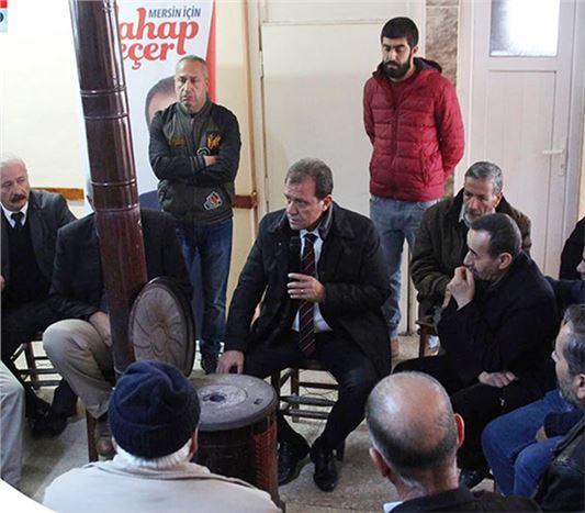Seçer, Seçim Çalışmalarına Tarsus'ta Devam Ediyor
