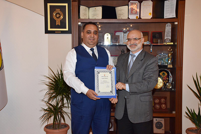 Diyanet İşleri Başkanı Ali Erbaş, Başkan Can'a Teşekkür Etti