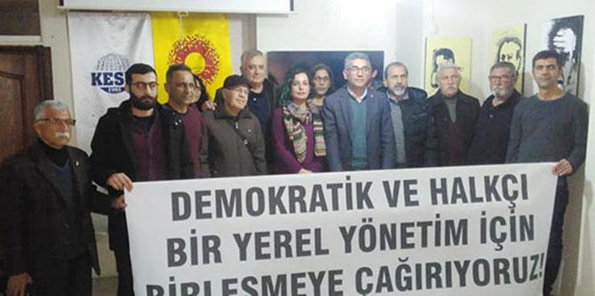 Demokratik ve Halkçı Bir Yerel Yönetim İçin Birleşme Çağrısı Geldi