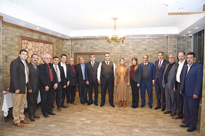 Başkan Can, MHP Meclis Üyeleri ile Bir araya Geldi