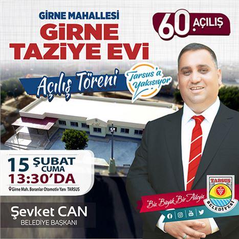 Tarsus Belediyesi 60. Açılışını Yarın Gerçekleştiriyor
