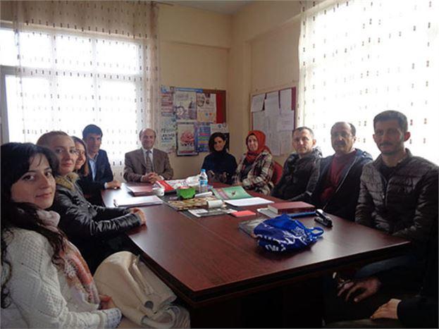 Müdür Mehmet Metin Okul Ziyaretlerini Sürdürüyor