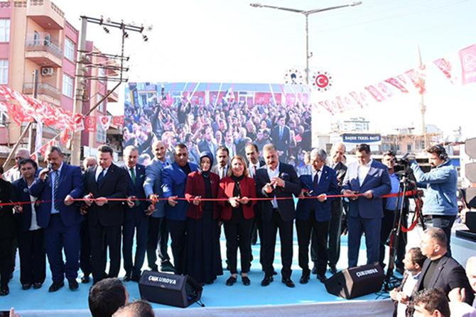 Cumhur İttifakı Tarsus'ta İlk Seçim Ofisini Açtı