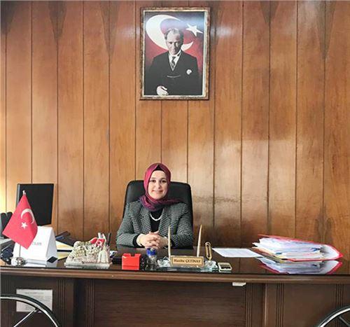 Kaymakamlık Yazı İşleri Müdürlüğüne Atanan Hasibe Çetinay Görevine Başladı