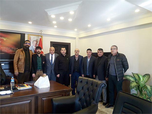 Başkan Kiltaş, Emniyet Müdürü Ünal'ı Ziyaret Etti