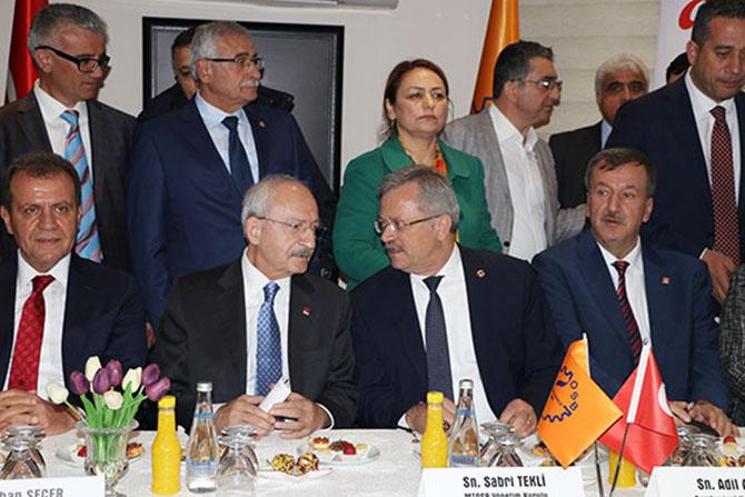 CHP Genel Başkanı Kemal Kılıçdaroğlu, Mersin'e Geldi