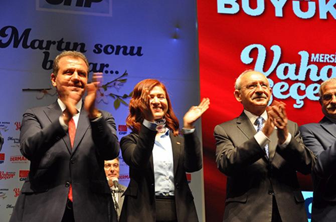 Seçer, CHP Genel Başkanı  Kemal Kılıçdaroğlu'nun  Katılımıyla Projelerini Tanıttı
