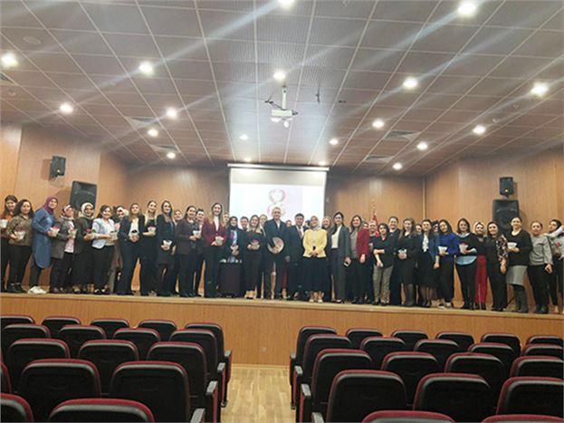 Adalet Kadın Personelinin, Kadınlar Günü Kutlandı