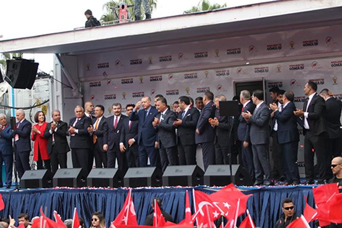 Cumhurbaşkanı Recep Tayyip Erdoğan, Tarsus'taki Yatırımlar Hakkında Konuştu