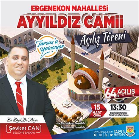 Ayyıldız Camii Yarın Açılıyor