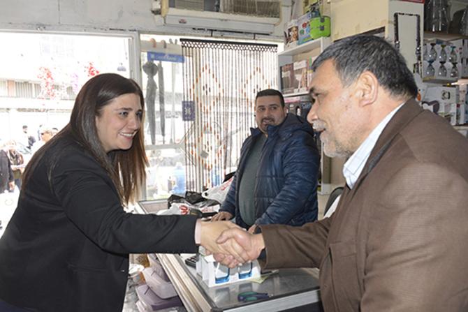 """Esin Erkoç, """"Halkın Belediye Başkanı Olacağım"""""""