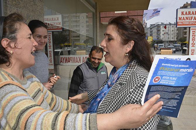 """İYİ Parti Tarsus Belediye Başkan Adayı Esin Erkoç, """"Tarsus'u Layık Olduğu Seviyeye Getireceğiz"""""""
