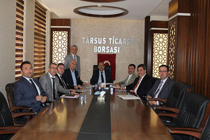 Tarsus Zeytin Platformu Üst Kurulu Toplandı
