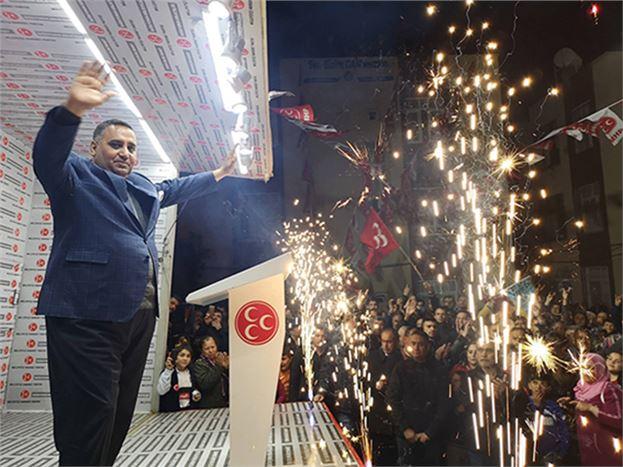 Başkan Can, Seçim Çalışmalarına Son Hızla Devam Ediyor