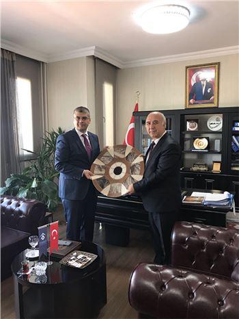Niğde Ömer Halisdemir Üniversitesi Rektörü  Prof. Dr. Muhsin Kar, Rektör Aydın'a Ziyaret Etti