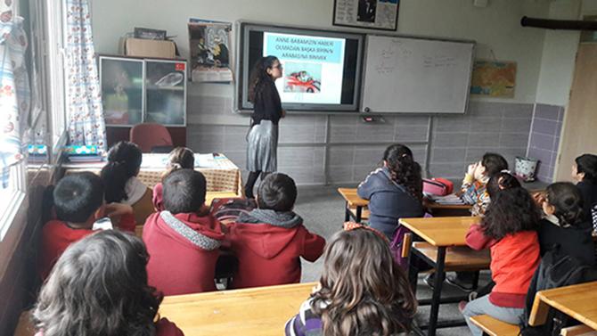 Gönüllü Öğretmenler Eğitim Verdi