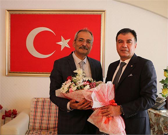 TSO Yönetimi, Belediye Başkanı  Bozdoğan'a, 'Hayırlı Olsun' Dedi