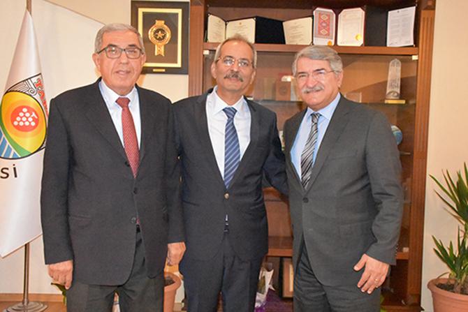Kültür Eski Bakanı Sağlar'dan, Başkan Bozdoğan'a Ziyaret