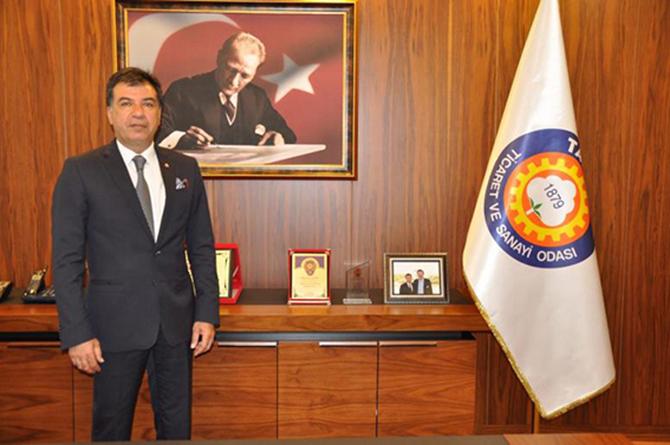 """TSO Başkanı Koçak, """"Maden Kanunu'ndaki Değişiklik Resmi Gazete'de Yayınlandı"""""""