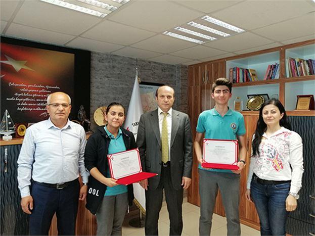Metin'i, Başarılı  Öğrenciler Ziyaret Etti