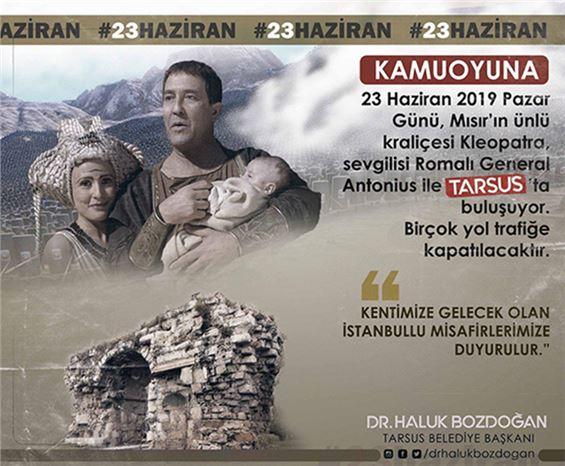 Bozdoğan, Tarsus'a Gelecek  İstanbullulara Çağrıda Bulundu