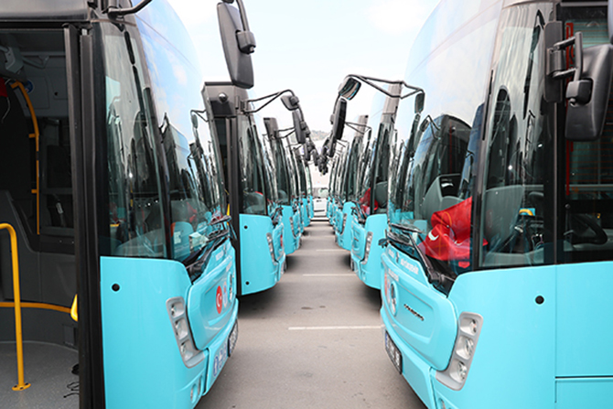 Mersin'de Milli Bayramlarda Toplu Taşıma Ücretsiz Olacak