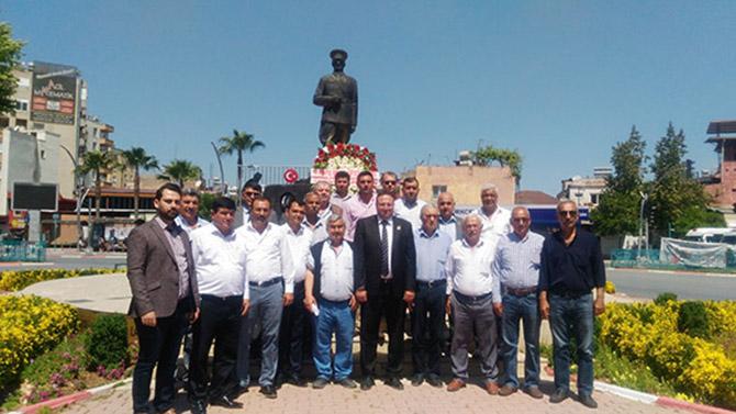 Çiftçiler, 14 Mayıs Çiftçiler Günü'nde Atatürk'ün Huzuruna Çıktılar