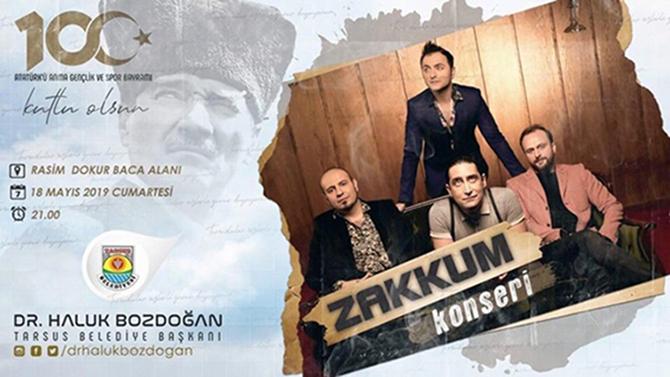 'Zakkum' Sevenler, Yarın Konser Alanına Gidecek