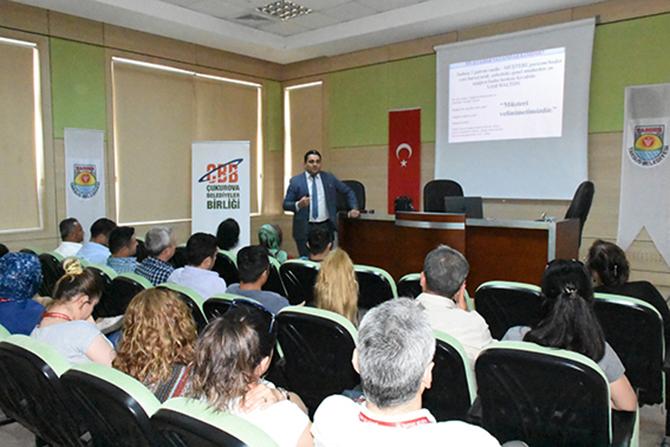 """Belediye Personeline 'Kurumsal Motivasyon ve Kurumsal İletişim"""" Semineri Düzenlendi"""