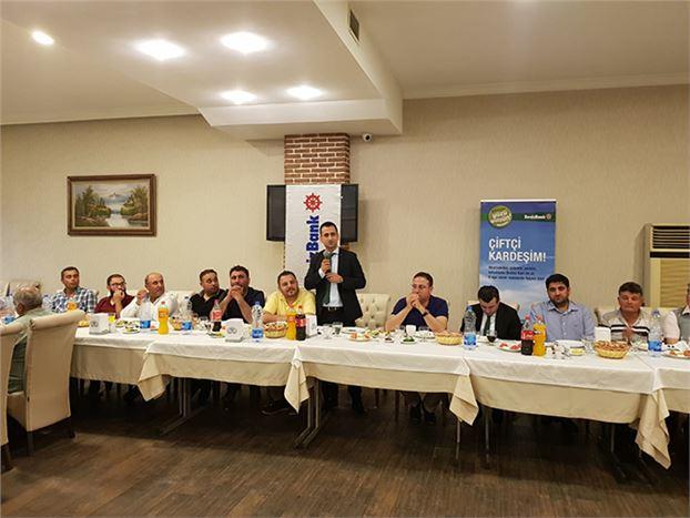 Denizbank Tarsus Şubesi,  Çiftçiler İle İftar Yemeğinde Buluştu