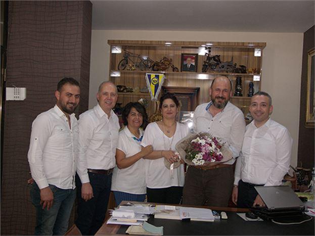 TSO Sigortacılık Komite Üyeleri, Gazetemizi Ziyaret Etti
