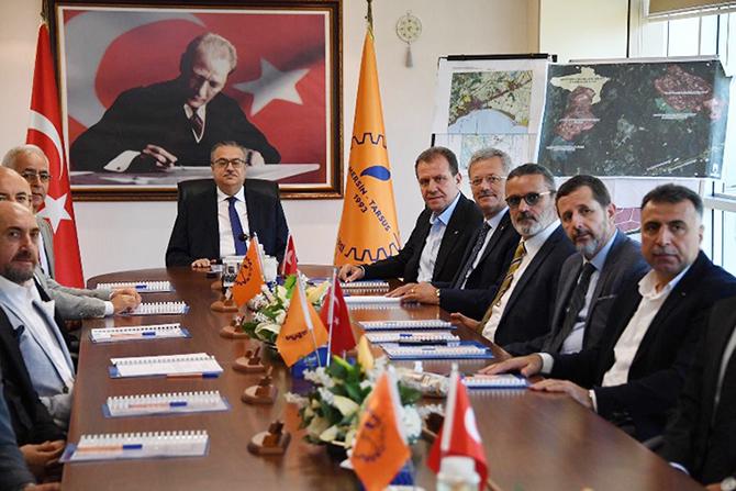Mersin-Tarsus OSB Müteşebbis Heyeti  Toplantısı Vali Su Başkanlığında Gerçekleşti