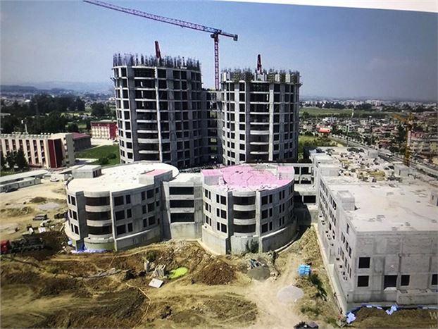 Tarsus Devlet Hastanesi  İnşaatının Yüzde 95'i Tamamlandı