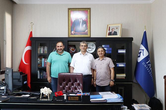 Türkiye Dağcılık Federasyonu'ndan Üniversitemize Ziyaret