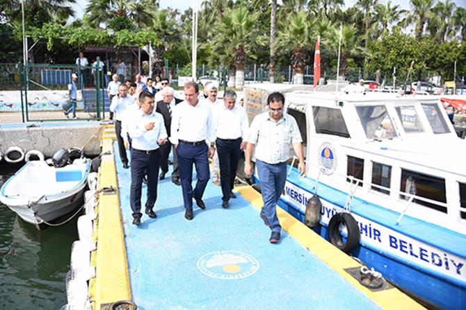 Başkan Seçer, Atıl Vaziyette Olan  Deniz Park'ta İncelemelerde Bulundu