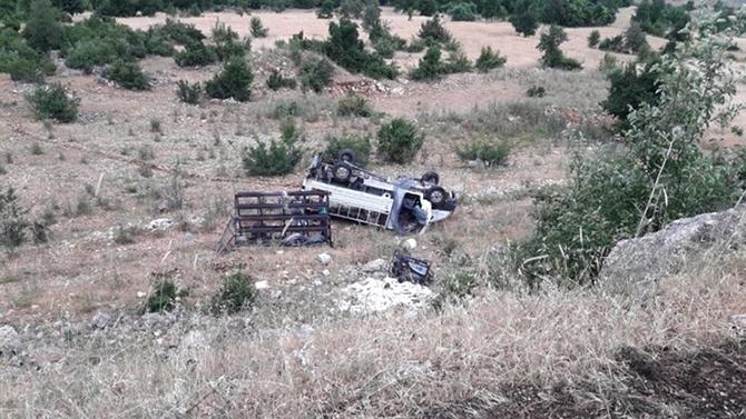 Trafik Kazasında İki Kişi Yaralandı