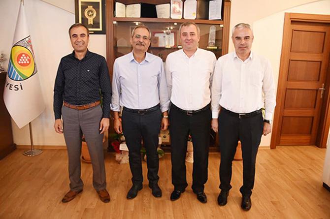 Kurum Müdürlerinden, Başkan Bozdoğan'a Ziyaret