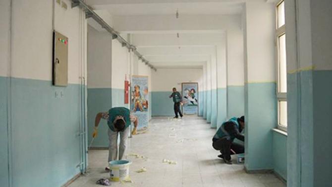 Bazı Okullar, Bakım ve Onarıma Girecek