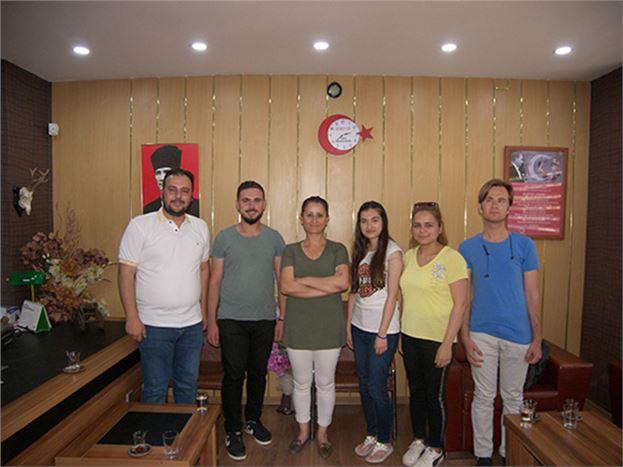 AK Partili Gençler, Gazetemizi Ziyaret Etti