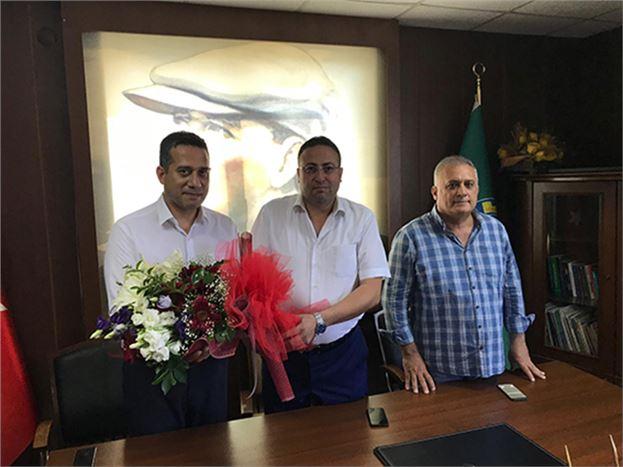 CHP'li Milletvekili Ali Mahir Başarır, TZO ve TSO'yu Ziyaret Etti