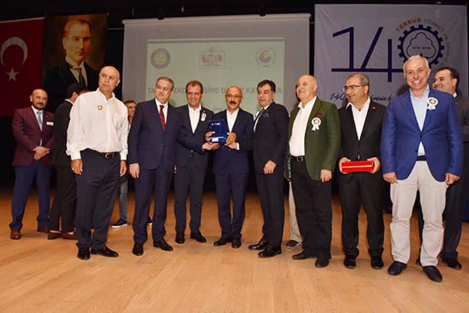 TSO 140. Kuruluş Yıldönümünde 'Tarsus Ekonomisine Değer Katanlar Ödül' Töreni Düzenledi
