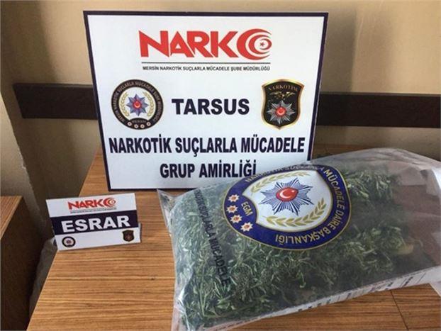 7 Kilo Uyuşturucu Ele Geçirildi