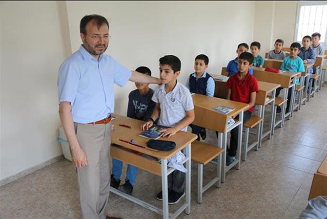 Müftü Ali Can, Yayla Kur'an Kurslarını Ziyaret Etti