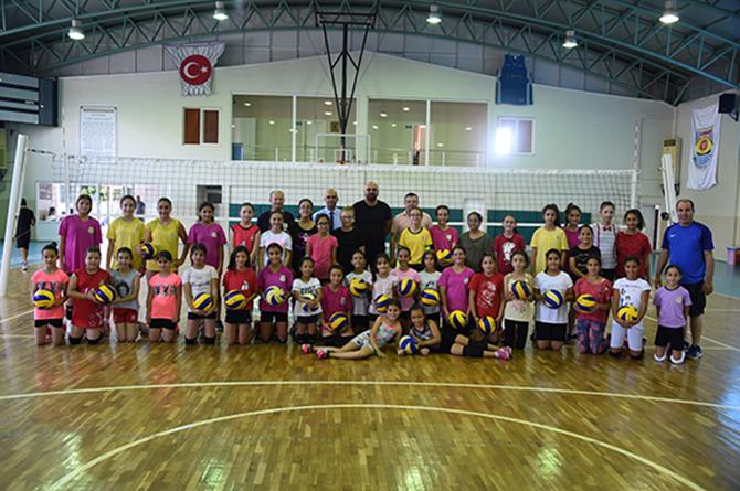 Tarsus Belediyesi Yaz Spor Okullarına Yoğun İlgi