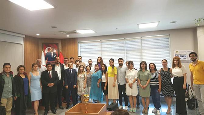 Avukatlardan, Kılıç ve Karakuş'a Veda Töreni