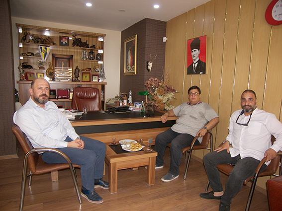 Başsavcı Mehmet Sabri Kılıç,  Gazetemize Veda Ziyaretinde Bulundu