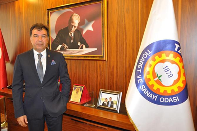 """TSO Başkanı Koçak, """"15 Temmuzda En  Zor Demokrasi Sınavını Başarı ile Verdi"""""""