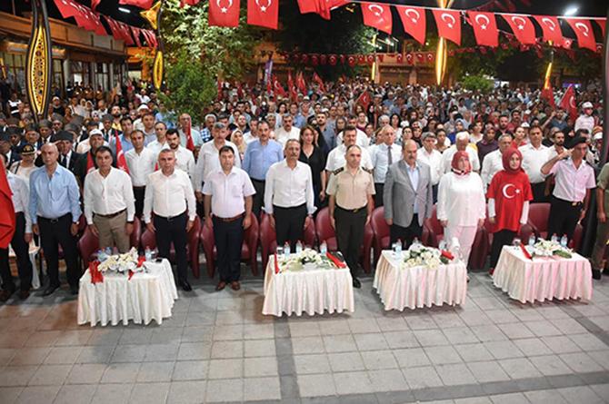 15 Temmuz Demokrasi ve Milli Birlik Günü Anma Etkinlikleri Düzenlendi 100 Kıbrıs Gazisine Madalya Beratı Verildi