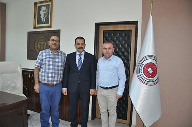 Şahin ve Şen, Başsavcı Tiryaki'yi Ziyaret Etti
