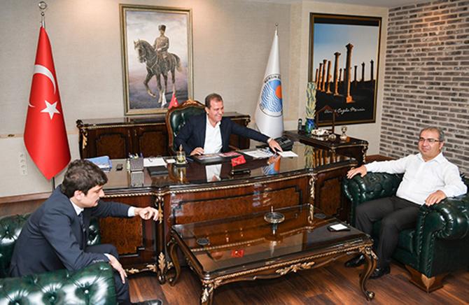 Başkan Seçer'e, Çamlıyayla İğne Oyası Festivali ve Motofest Daveti